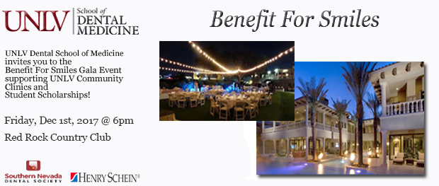 Benefit for Smiles Gala Banner